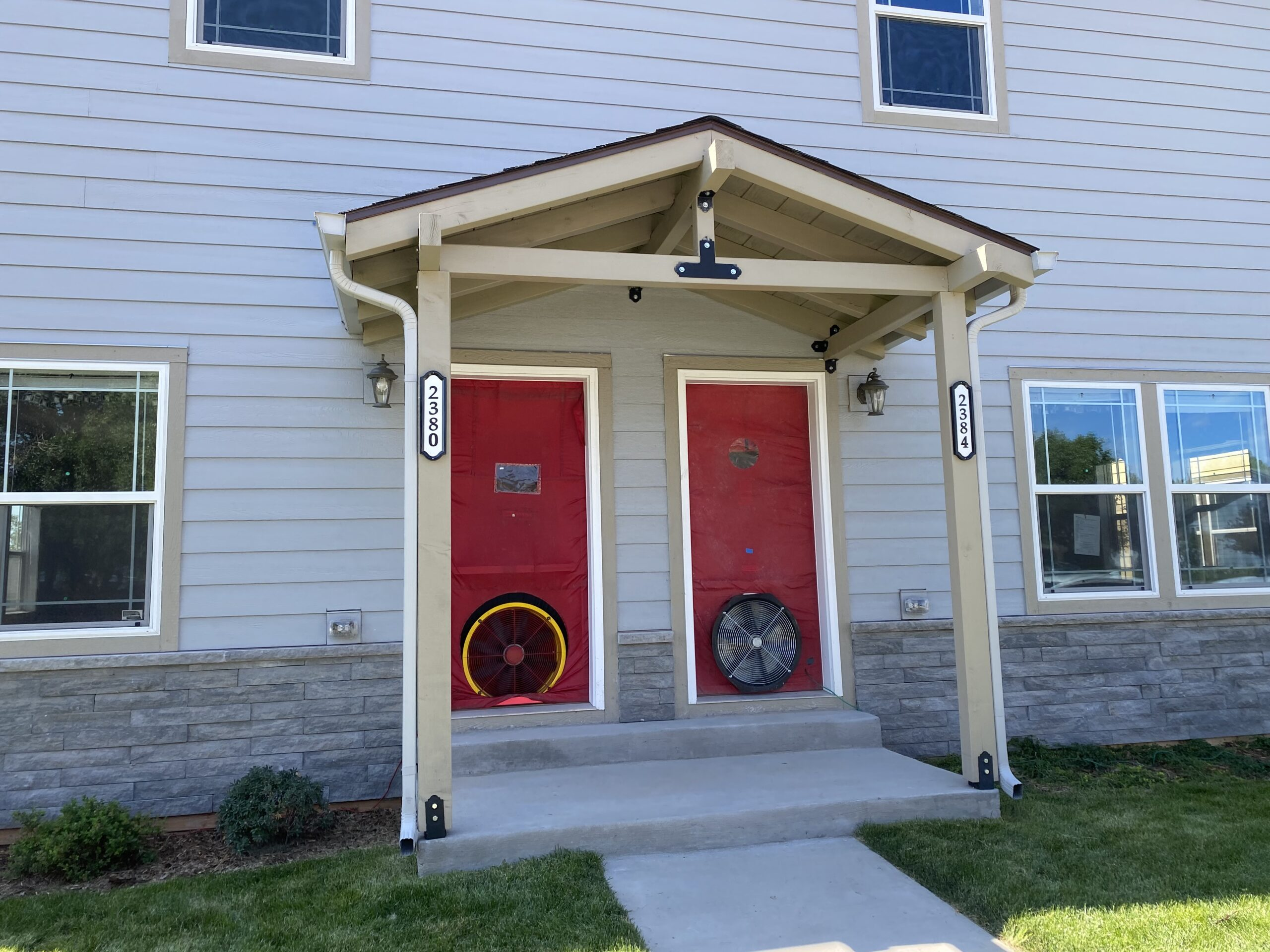 Multi-Family Blower Door Testing